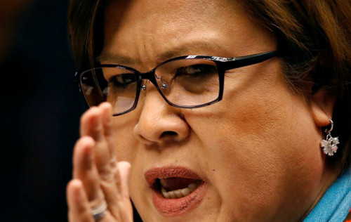 Report: De Lima to be arrested anytime soon