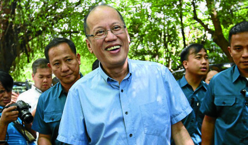 BS Aquino charged