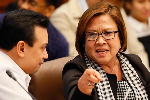 Trillanes and De Lima