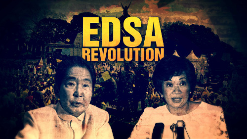 What is your reaction about edsa revolution?