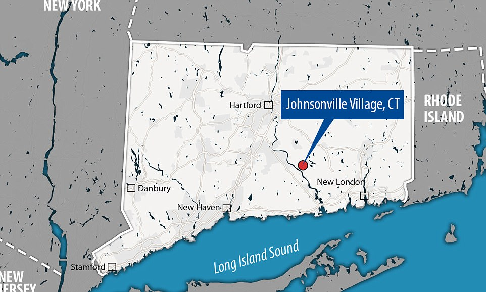 Map of Johnsonville, Connecticut