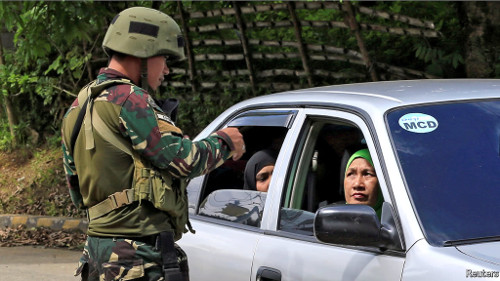 Marawi check point