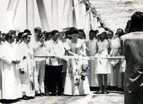 Opening of San Juanico Bridge