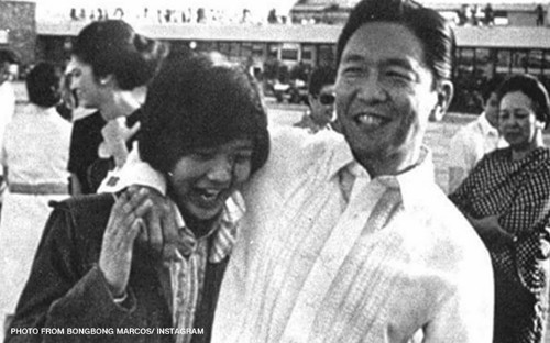 Bongbong Marcos and father