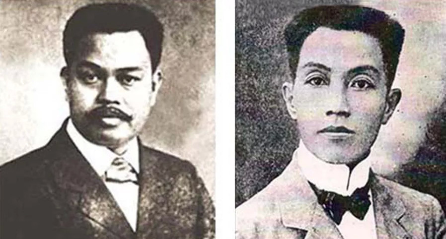 Antonio Luna and Emilio Aguinaldo