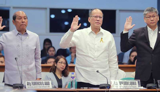 Aquino's Dengvaxia hearing