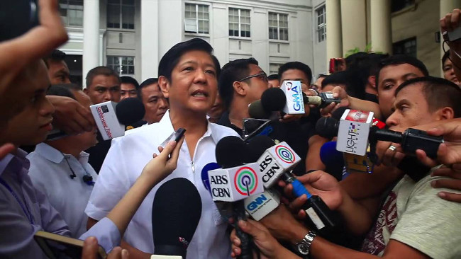 Bongbong Marcos protest