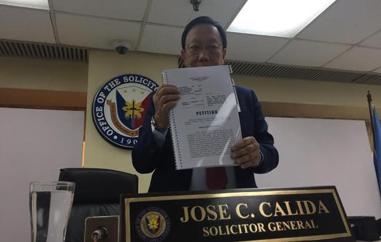 Jose Calida quo warranto petition