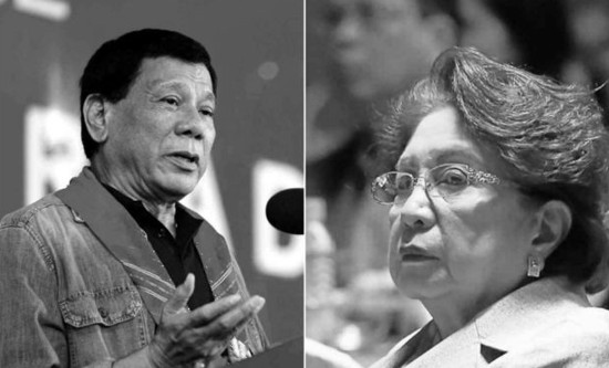 Duterte and Morales