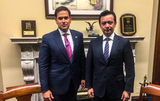 Marco Rubio and Trillanes
