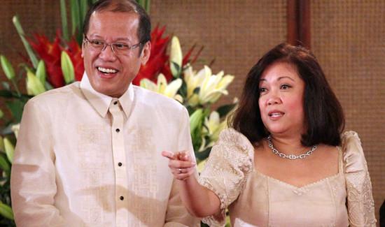 Sereno with Aquino