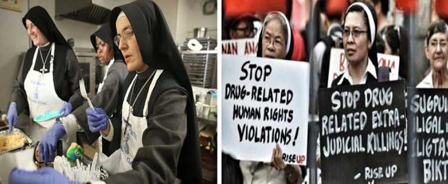 American nuns vs Filipino nuns