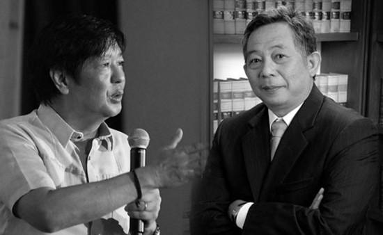 Bongbong Marcos and Benjamin Caguioa