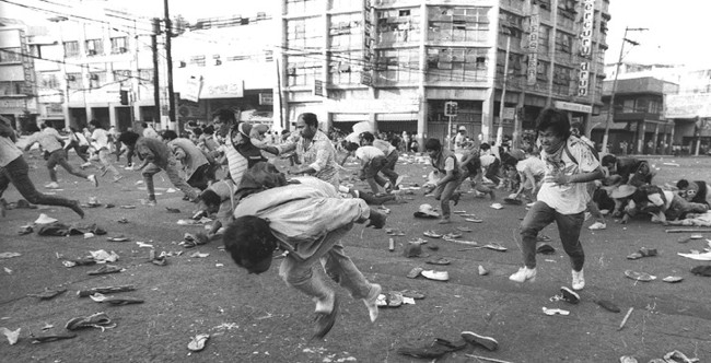 Mendiola Massacre on January 22, 1987