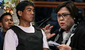 Leila de Lima can't control her immorality