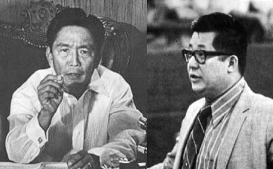 Marcos and Aquino