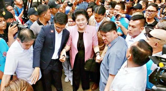 Colossal propaganda lies over Sandiganbayan's Imelda decision