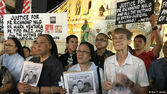 Priests and nuns against Marcos