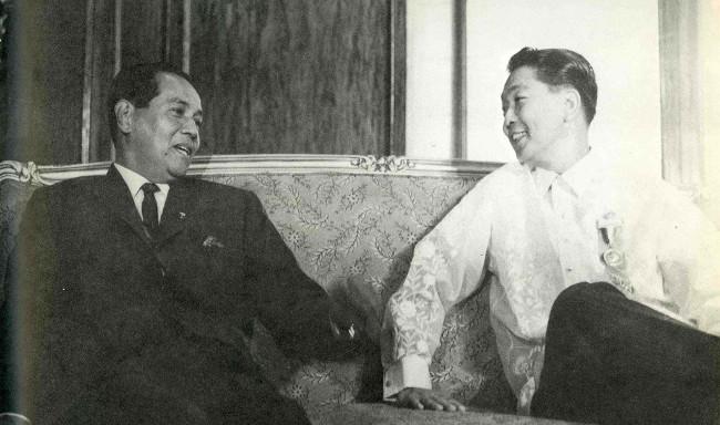 Ferdinand Marcos and Diosdado Macapagal