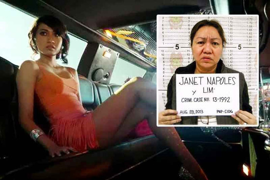 Janet Napoles and duaughter
