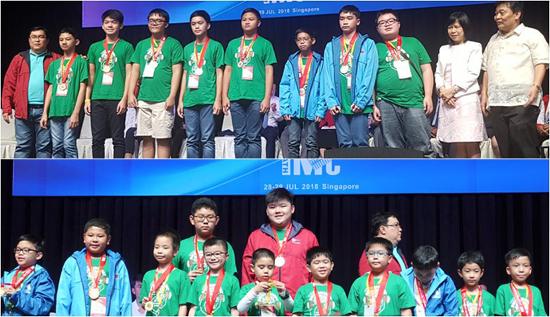 Filipino Mathematics wizards top 14th International Mathematics Contest in Singapore