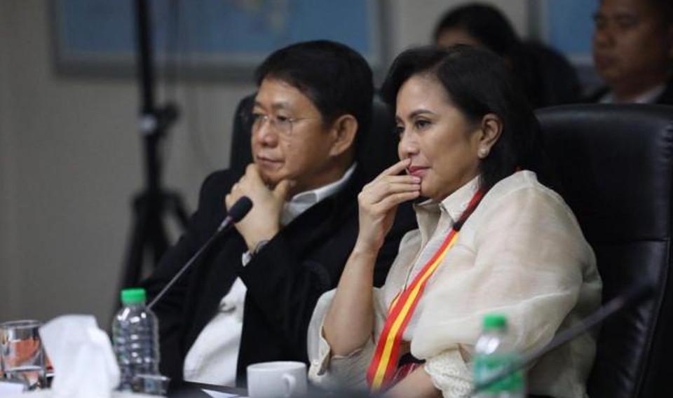 Duterte fires Robredo