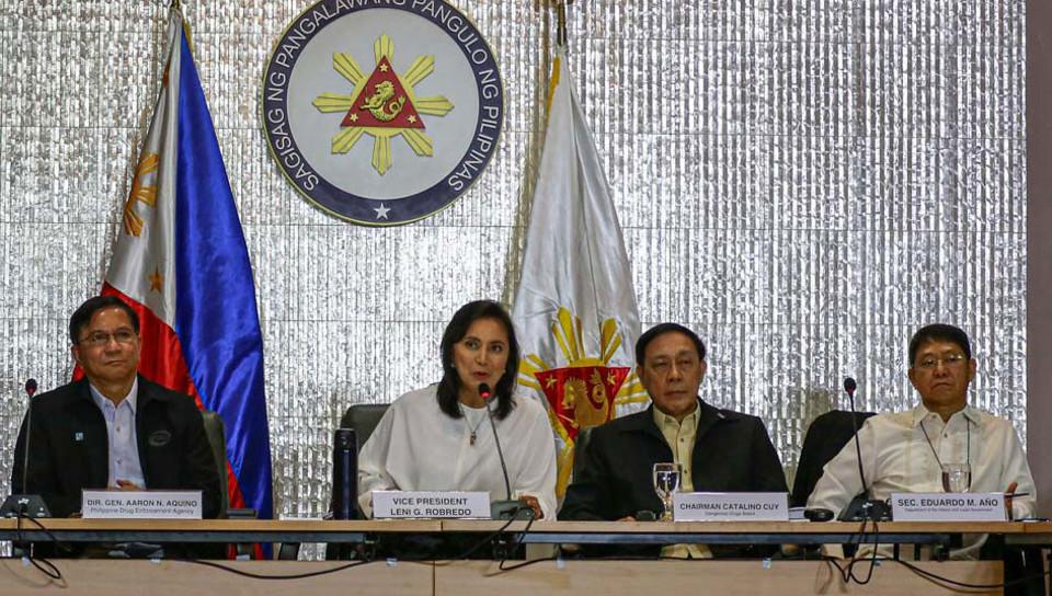 Robredo with ICAD members