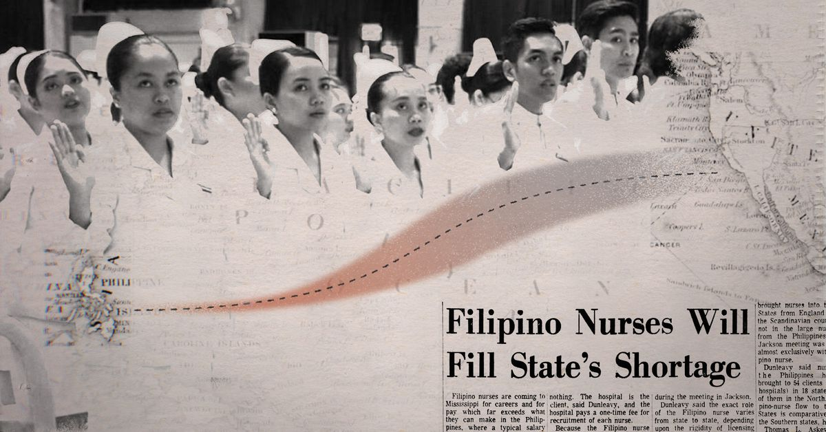 The history that led to the large presence of Filipino nurses in the United States