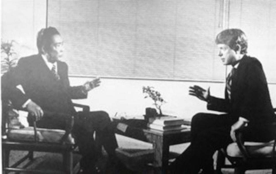 President Marcos and Ted Koppel