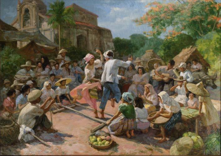Describing The Art Painting Of Amorsolo