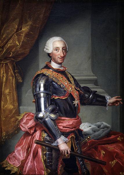December 14, 1788, King Carlos III of Spain died