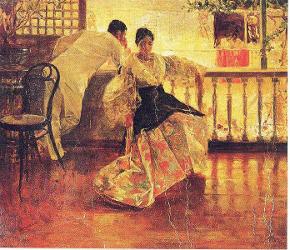 Tampuhan by Juan Luna