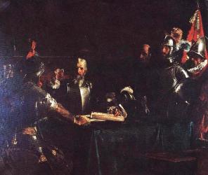 El Pacto de Sangre by Juan Luna
