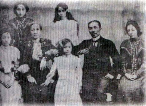 The Agoncillo family in Hongkong