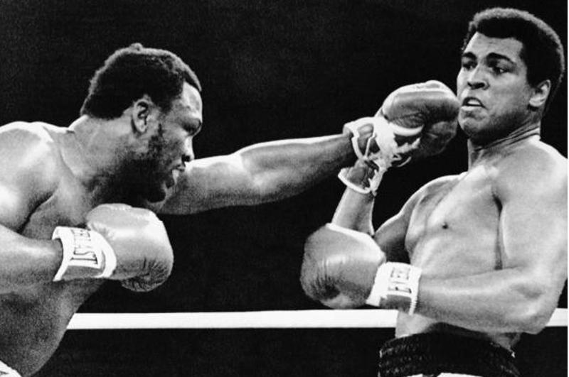 Thrilla in Manila took place at Araneta Coliseum October 1, 1975