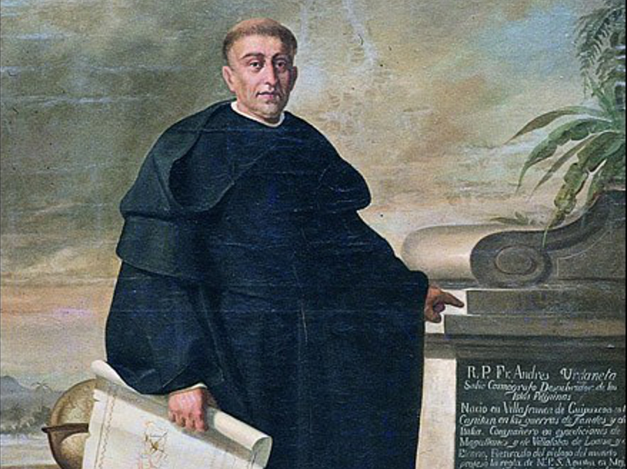Andres de Urdaneta, pilot of Legazpi expedition, prelate of the Filipinas on June 3, 1568 died in Mexico