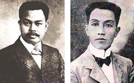 Antonio Luna and Emilio Aguinaldo