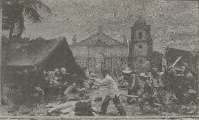 The people of Balangiga Samar attacked Americans September 28, 1901