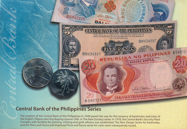 7 Banknotes Of The Philippines