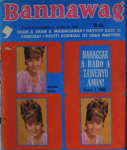 Cover of Bannawag Januaary 1, 1968 issue