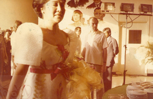 Then First Lady Imelda Marcos during the opening ceremony of the  Lungsod ng Kabataan on April 29, 1980.