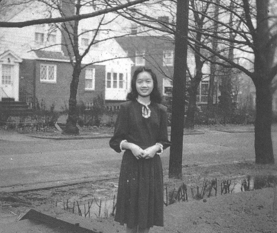 A year after the war ended, the Cojuangco children were sent to the United States to study.  The three younger girls were admitted to the Ravenhill Academy in Philadelphia.  The next year, Cory transferred to Notre Dame Convent School in New York City,  where she finished high school. She went on to major in French and mathematics at the College of Mount Saint Vincent in the same city (Source: http://www.coryaquino.ph/).