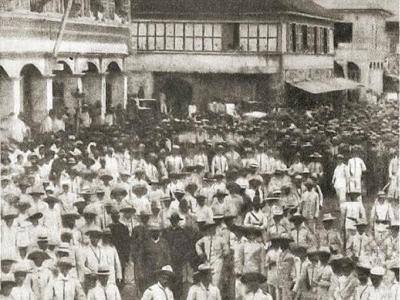 Filipino regiment in Iloilo