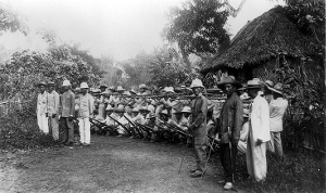 Filipino soldiers in 1899