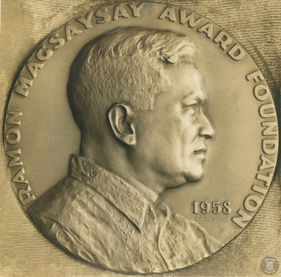 The Ramon Magsaysay Award, created in 1957, is the highest prize for leadership in Asia. The award is presented every 31st of August—the birth anniversary of President Ramon Magsaysay. (Source: National Library of the Philippines)
