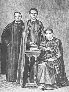 The GOMBURZA were executed February 17, 1872