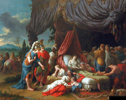 La mort de la femme de Darius (The Death Of Darius Wife)