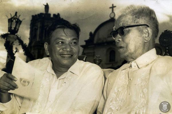 Emilio Aguinaldo died at the Veterans Memorial Hospital February 6, 1964