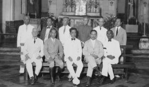 Aguinaldo and delagates to Malolos convention