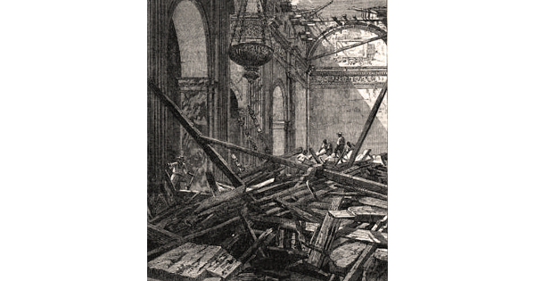 June 3, 1863, a strong earthquake rocked Manila